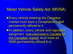 motor vehicle safety act mvsa10