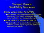 transport canada road safety directorate4