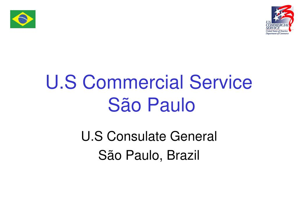 u s commercial service s o paulo l.