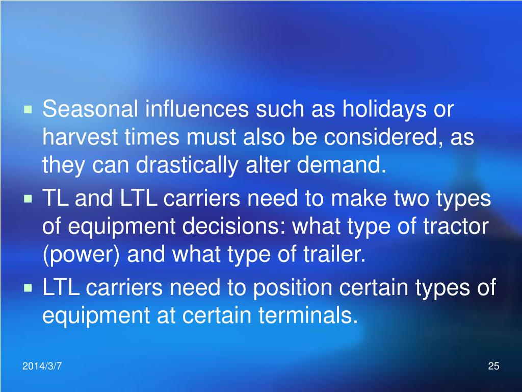 Seasonal influences such as holidays or harvest times must also be considered, as they can drastically alter demand.