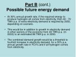 part b cont possible future energy demand