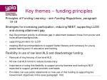 key themes funding principles37