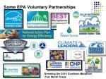 some epa voluntary partnerships