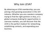 why join leva