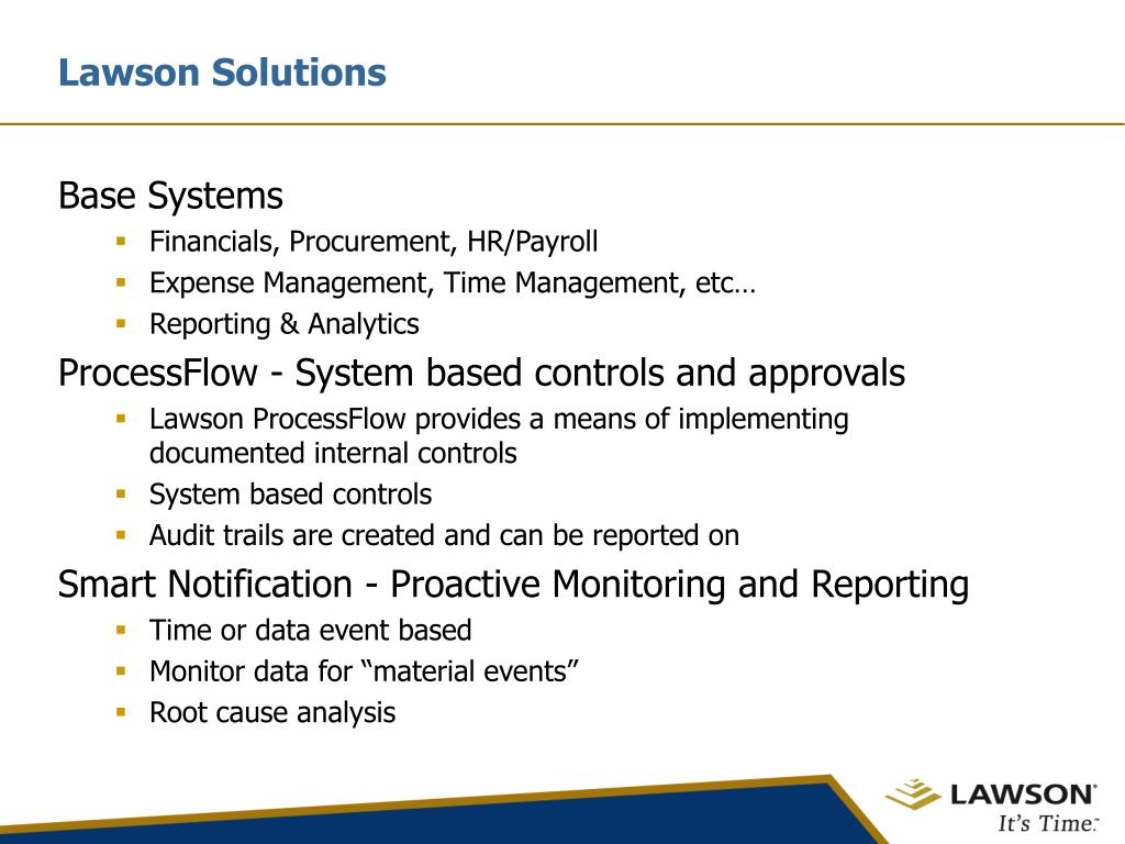 Lawson Solutions