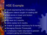hse example