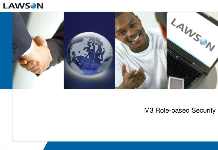 M3 Role-based Security