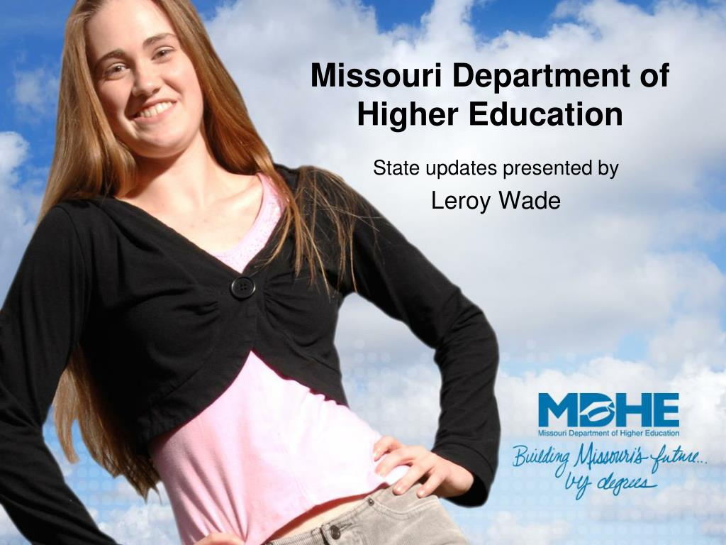 missouri department of higher education l.
