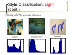 style classification light cont15