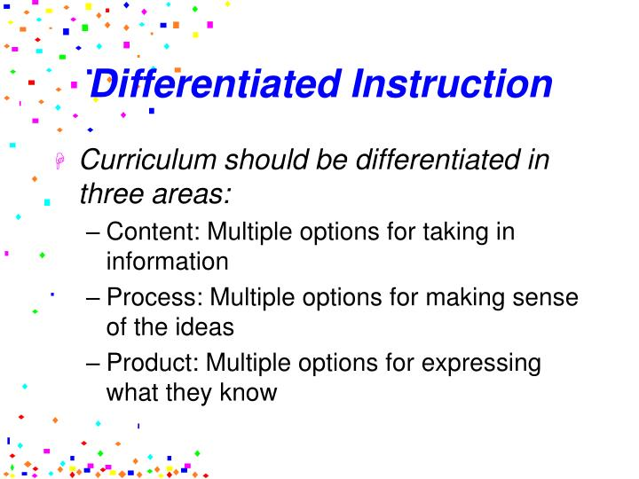 Ppt Learning Theories Learning Styles And Differentiated