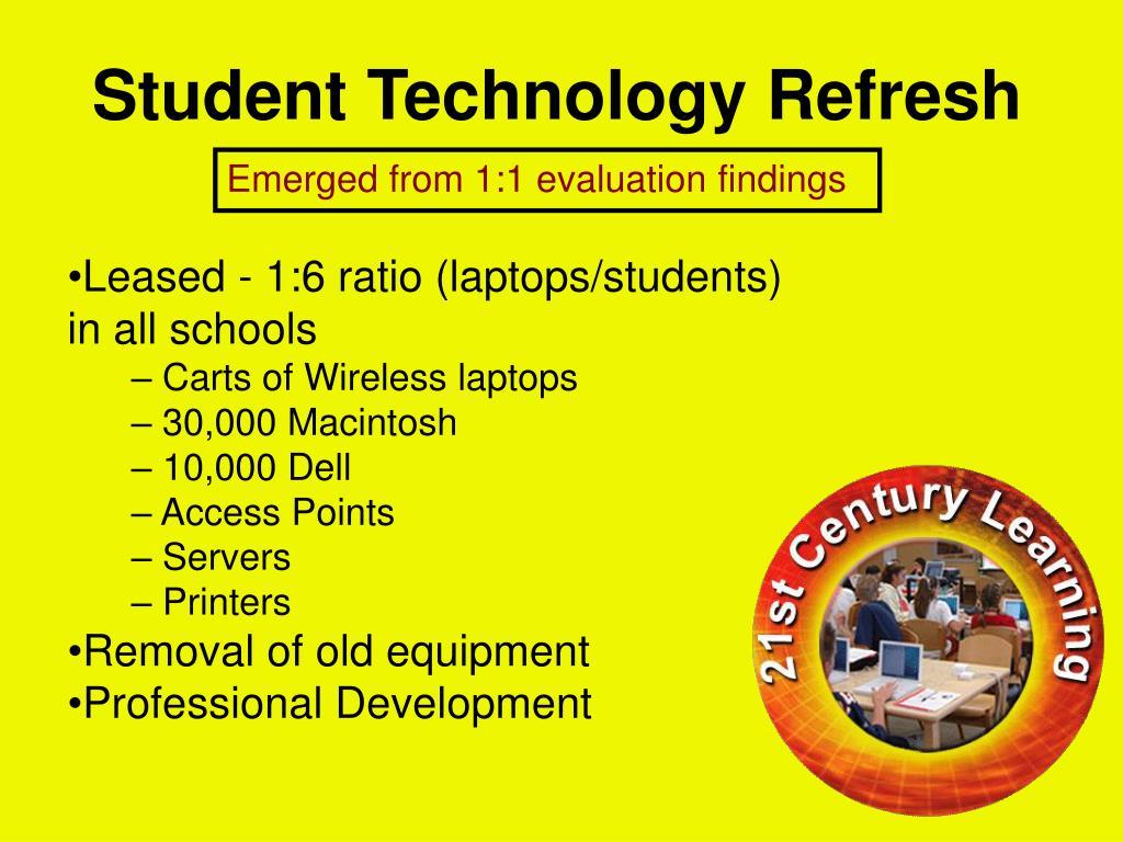 Student Technology Refresh
