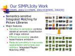 our simplicity work pami 2001 1 pami 2001 9 pami 2002 9