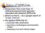 status of simplicity
