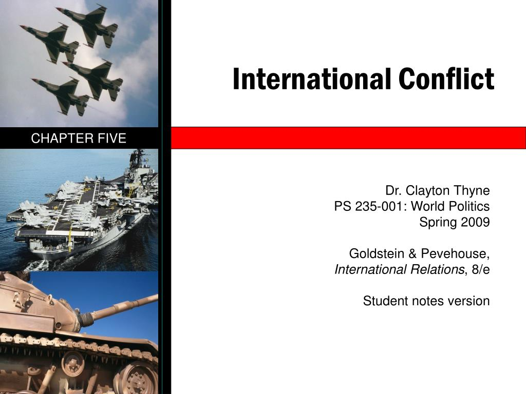 international conflict l.
