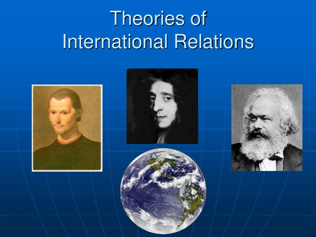 theories of international relations l.