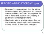 specific applications chapter 10