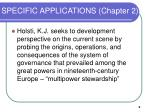 specific applications chapter 2