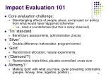 impact evaluation 10118