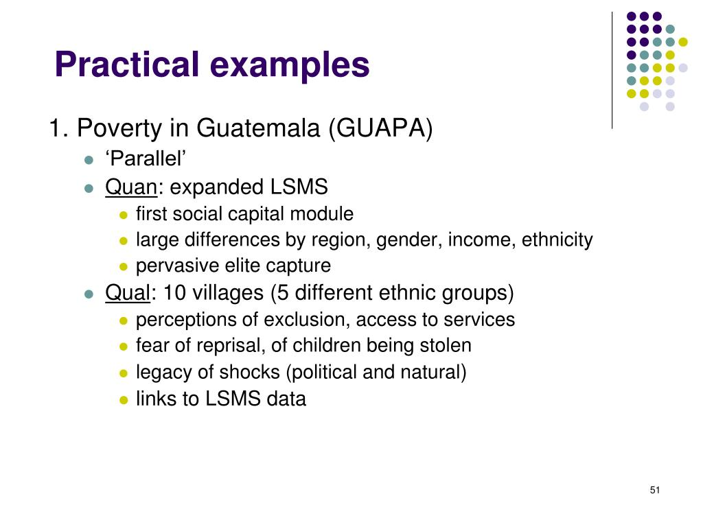1. Poverty in Guatemala (GUAPA)