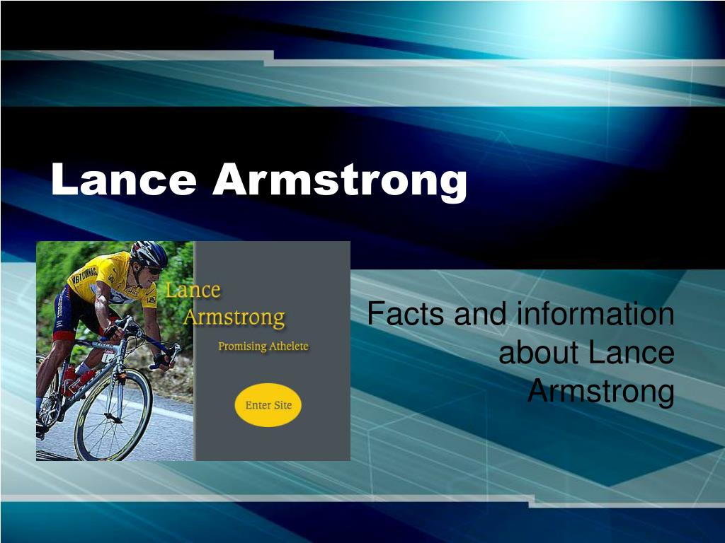 lance armstrong l.