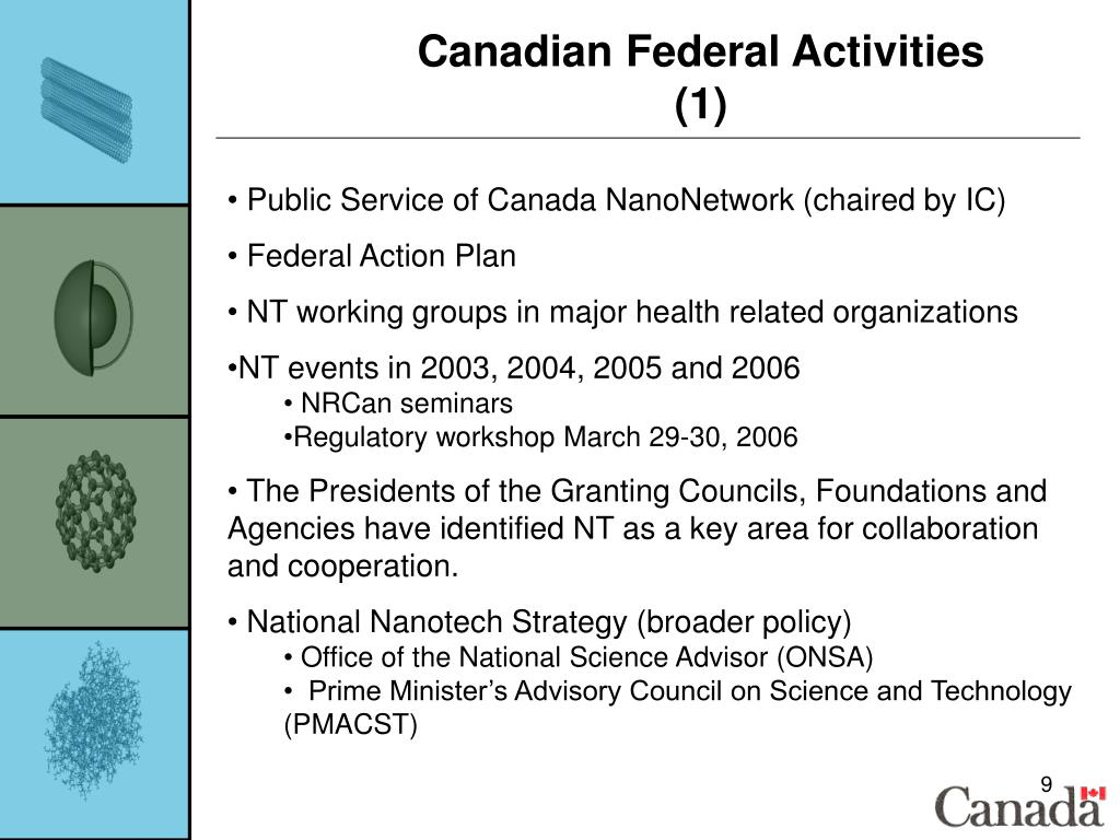 Canadian Federal Activities (1)