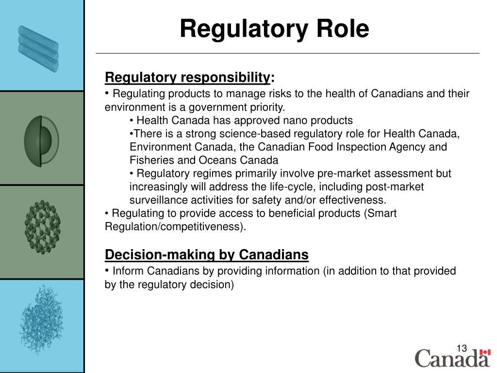Regulatory Role