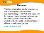 nanozone