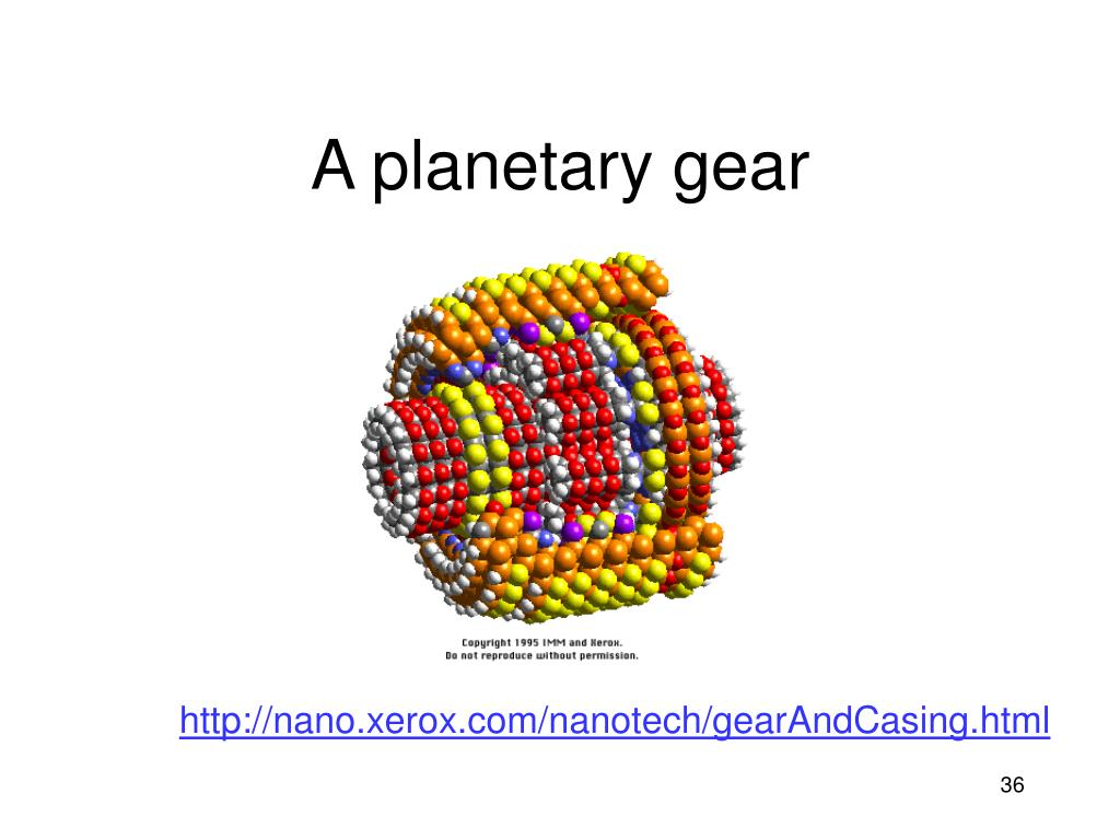 A planetary gear