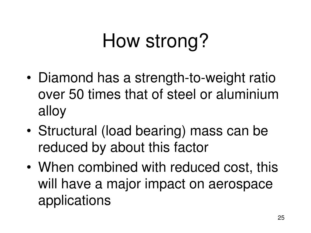 How strong?