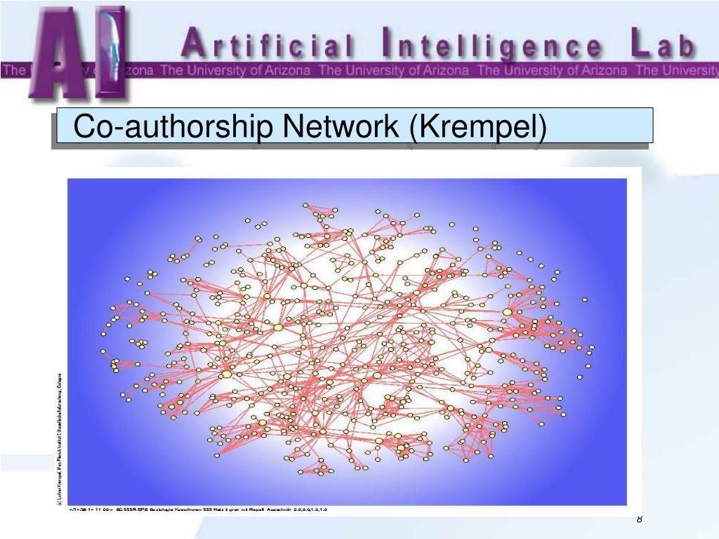 Co-authorship Network (Krempel)
