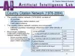 country citation network 1976 2004