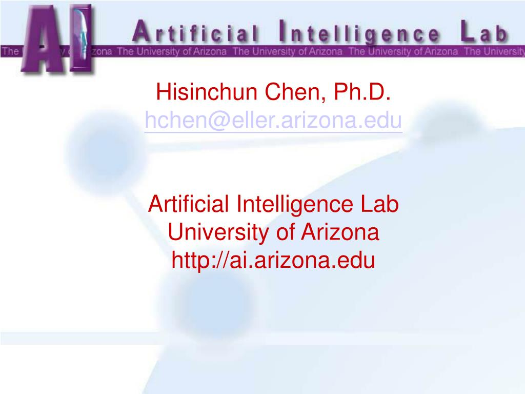 Hisinchun Chen, Ph.D.