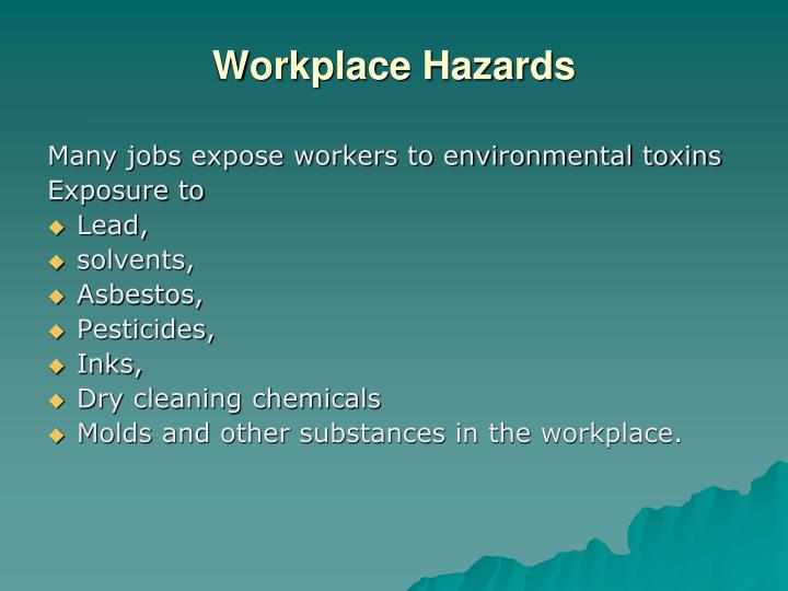 Workplace Hazards