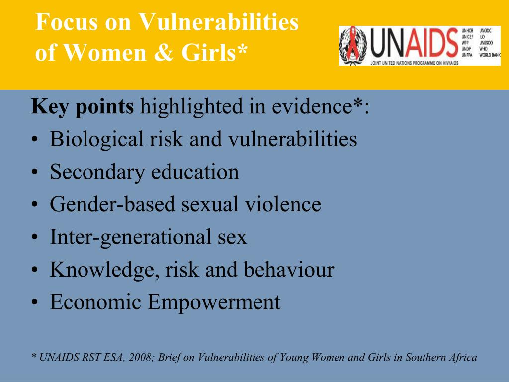 Focus on Vulnerabilities