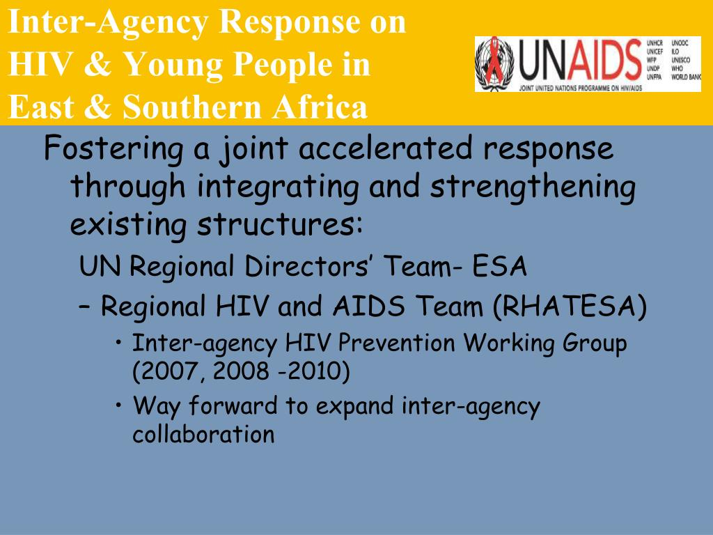 Inter-Agency Response on