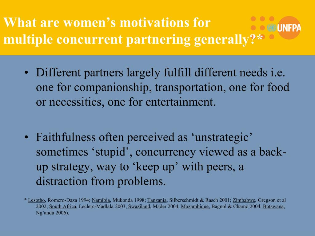 What are women's motivations for