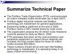 summarize technical paper22