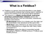 what is a fieldbus3