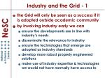 industry and the grid 1