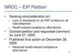 nrdc eip petition