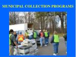 municipal collection programs