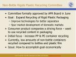 non bottle rigids plastic recycling committee