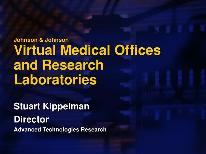 johnson johnson virtual medical offices and research laboratories n.