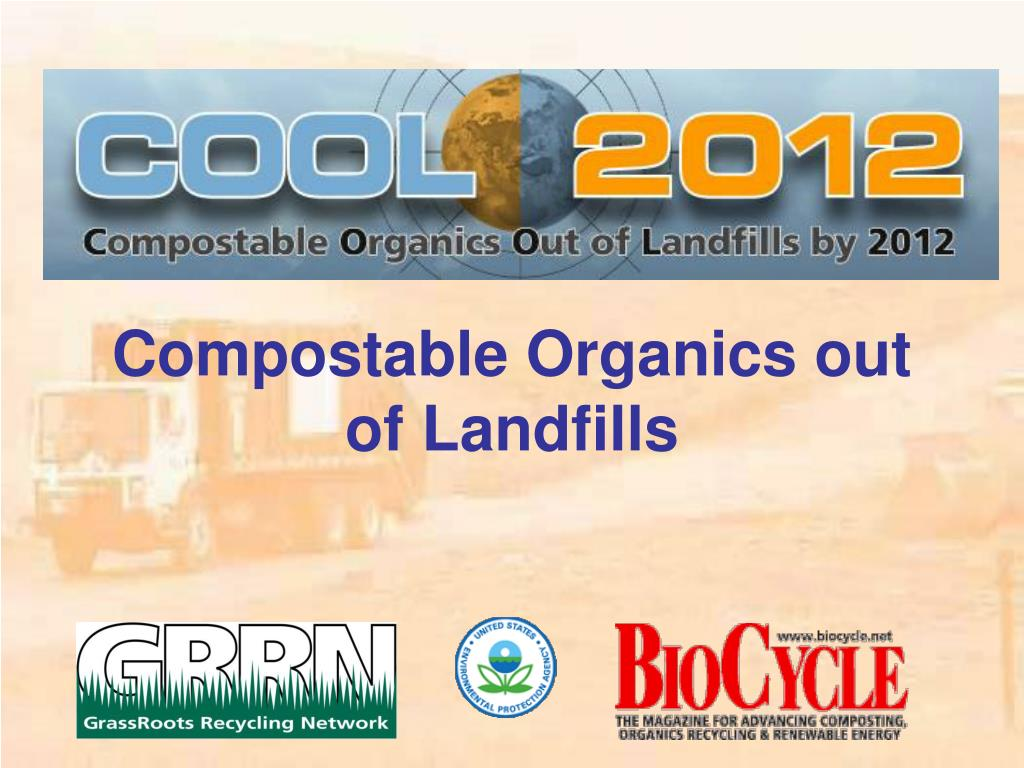 compostable organics out of landfills l.