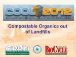 compostable organics out of landfills