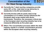 concentration of the eu steel scrap industry18