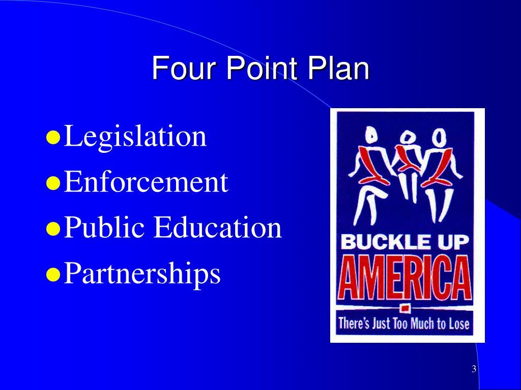 Four Point Plan
