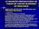 vi reuni n preparatoria de foros de cortes supremas de mercosur45