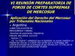 vi reuni n preparatoria de foros de cortes supremas de mercosur49