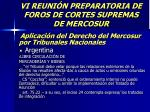 vi reuni n preparatoria de foros de cortes supremas de mercosur50
